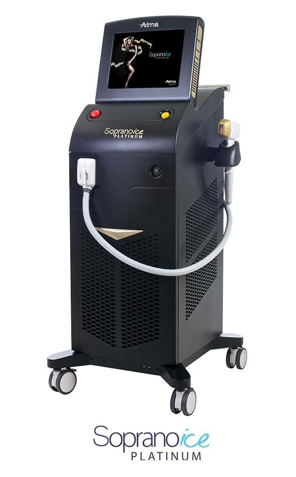 Used Alma-Lasers-Soprano-ICE-Platinum For Sale
